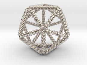 Twisted Icosahedron LH in Platinum
