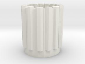 Allen Wrench Bottle Cage in White Natural Versatile Plastic