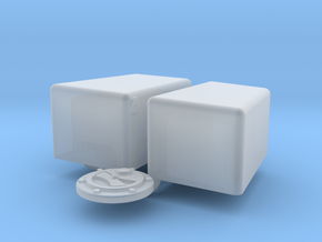 1/25 Jaz 3gal 12 7p5 10 Econo Rail in Smooth Fine Detail Plastic
