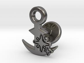 Cufflinks - SHINY!!! in Polished Nickel Steel