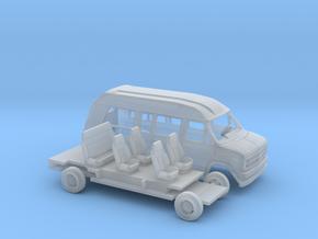 1/43 1988 Chevrolet G Van Conversion Kit in Smooth Fine Detail Plastic