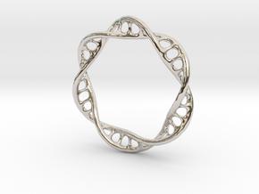 DNA Ring 2 in Platinum