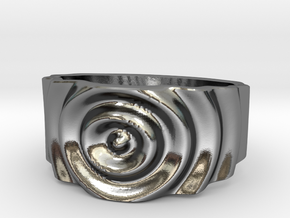 Ringpples Ring 1 in Polished Silver