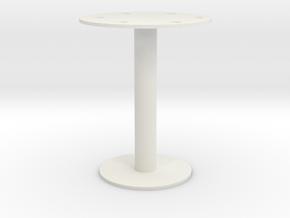 Umbrella stand in White Natural Versatile Plastic