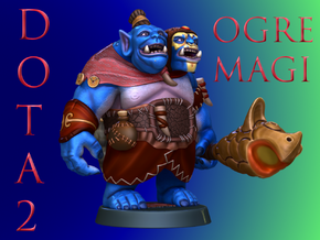 Dota2 Ogre Magi in Full Color Sandstone