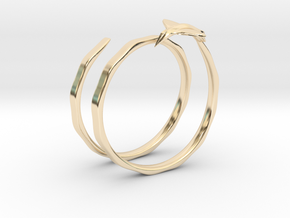 Traveler Ring in 14k Gold Plated Brass: 6.75 / 53.375