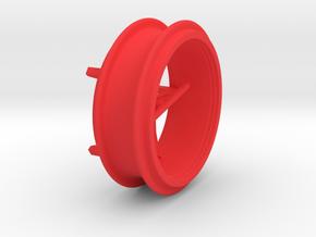 Zwillingsreifen Felge Fendt 300  in Red Processed Versatile Plastic
