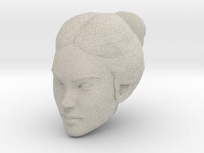 Female head in Natural Sandstone