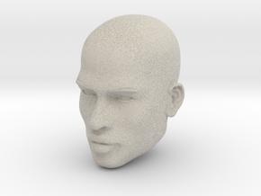 Male head in Natural Sandstone