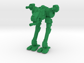 Wyrd Type Combat Walker - 6mm Scale in Green Processed Versatile Plastic
