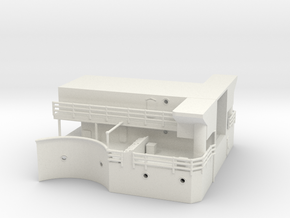 Best Cost 1/192 USN BB59 mk51 platform (bellow par in White Natural Versatile Plastic