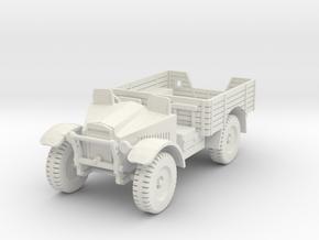 PV62E Morris CS8 15cwt Truck (1/56) in White Natural Versatile Plastic