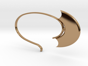Oval Hoop (SWH5a) in Polished Brass