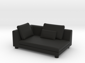 Sofa 2018 model 14 in Black Natural Versatile Plastic
