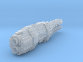Artemis class battlecruiser in Smooth Fine Detail Plastic