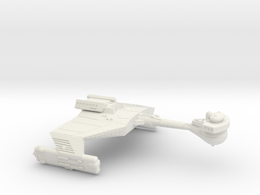 3788 Scale Klingon D5K Refitted War Cruiser WEM in White Natural Versatile Plastic