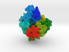 Anti-CRISPR Protein AcrF1 in Full Color Sandstone