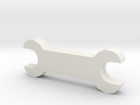 耳機收納.stl in White Natural Versatile Plastic
