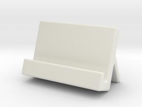 手機架.stl in White Natural Versatile Plastic