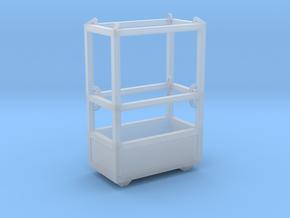 1-50 Man Basket 2P in Smooth Fine Detail Plastic