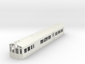 o-32-lnwr-steam-railmotor-1 in White Natural Versatile Plastic