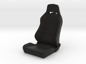 Sport Seat C-Trailcat-Type - 1/10 in Black Natural Versatile Plastic
