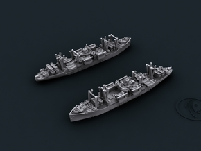 USN APA Haskell in White Natural Versatile Plastic: 1:1800