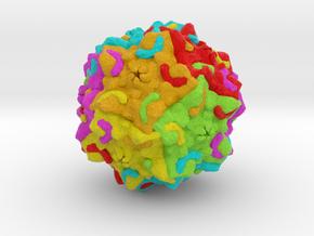 Minute Virus of Mice in Full Color Sandstone