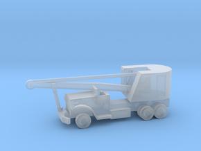 1/144 Scale Brockway C666 Pontoon Bridge Crane in Smooth Fine Detail Plastic