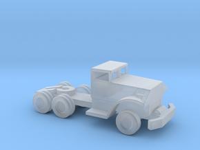 1/144 Scale Brockway Tractor Pontoon Bridge Tracto in Smooth Fine Detail Plastic