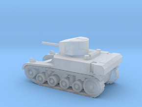 1/144 Scale Stuart M3A1 Light Tank in Smooth Fine Detail Plastic