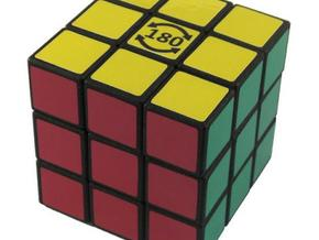 3x3x3 Cube - Limited to 180 degrees on one axis in White Natural Versatile Plastic