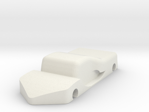 Car models in White Natural Versatile Plastic
