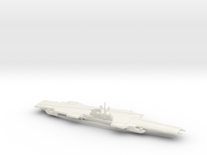 USS Coral Sea (CV-43), Final Layout, 1/1800 in White Natural Versatile Plastic