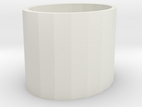 106102240Pen holder in White Natural Versatile Plastic