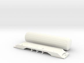 SBB Uacns Scale TT  V2 in White Processed Versatile Plastic