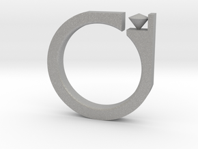 Digi Ring in Aluminum