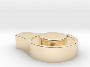 Wingleader Back Rest Hub Cup (replacement part) in 14K Yellow Gold