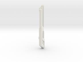 Star Trek 1400 Basilsk Nacelle in White Natural Versatile Plastic