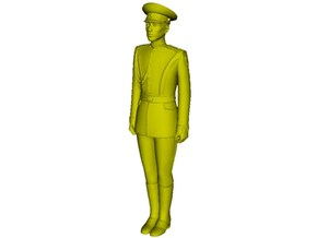 1/24 scale USSR & Russian Army honor guard soldier in Smooth Fine Detail Plastic