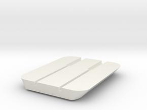 Headphone cable storage in White Natural Versatile Plastic