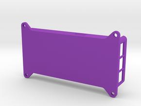 VMX-pi Base [Raspberry Pi 3B/3B+] in Purple Processed Versatile Plastic