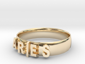ARIES Bracelets in 14k Gold Plated Brass