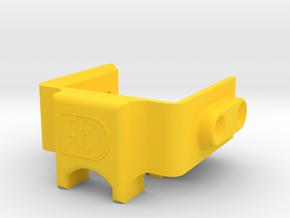 Staple Gun Wire Guide in Yellow Processed Versatile Plastic