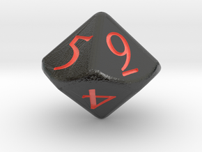 D10 D&D Dice in Coated Full Color Sandstone