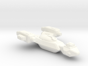 Raven Cruiser in White Processed Versatile Plastic