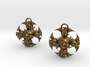 IF Kleinian Earrings in Natural Bronze