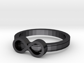 Infinite in Polished and Bronzed Black Steel