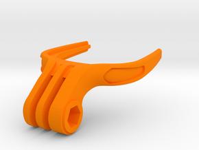 GoPro Mouth Mount in Orange Processed Versatile Plastic