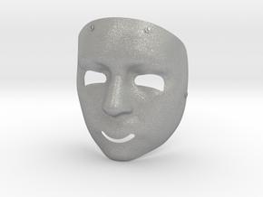 Human Mask in Aluminum